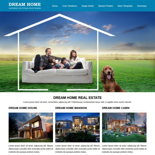 Dream Home Joomla Templates