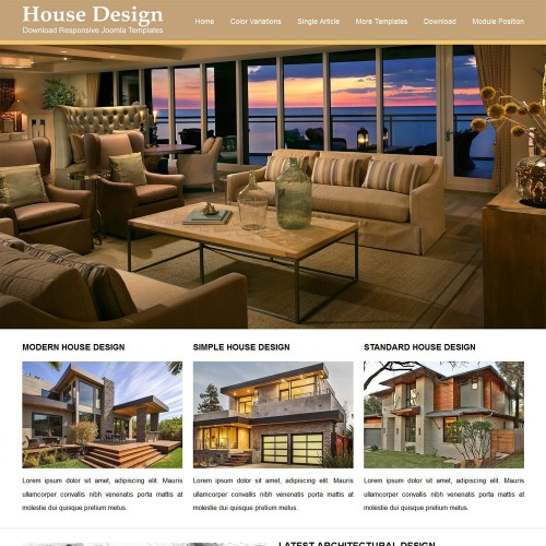 House Design Joomla Templates Part 40